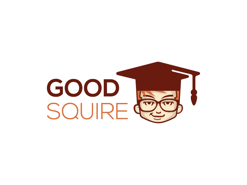 Good Squire Cartoon Logo
