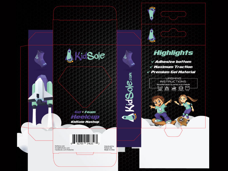 Kidsole-Heel-Cup-Packaging