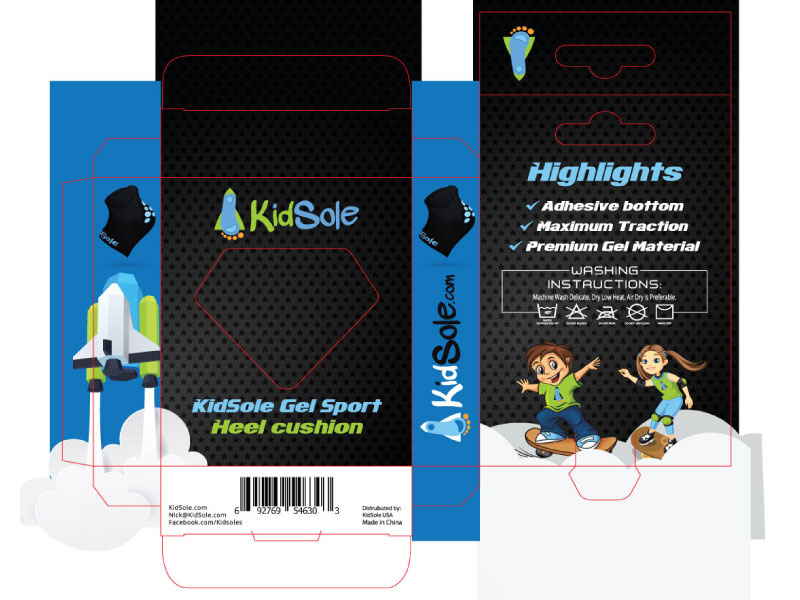 Kidsole-gel-sport-packaging