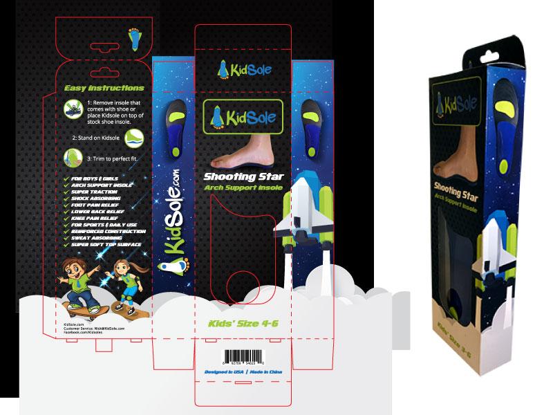 Shooting-Star-Kidsole-packaging-design