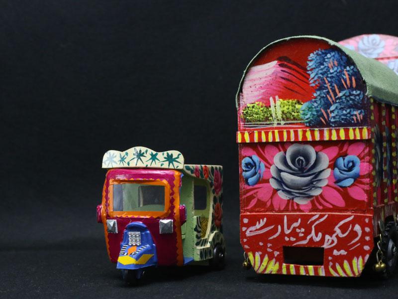 Truck-art-Rekshaw