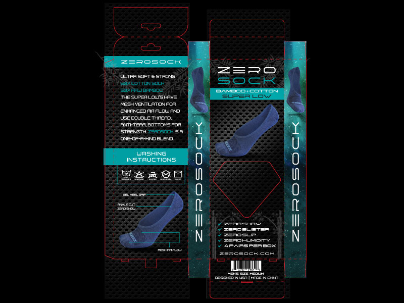 zerosock-blue-packaging-design